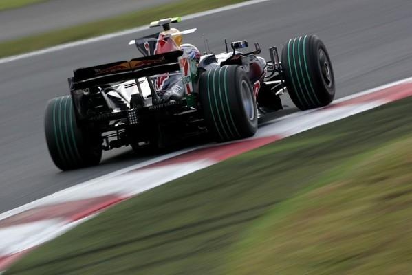 Nur Webber war zufrieden: Coulthards negative Aspekte