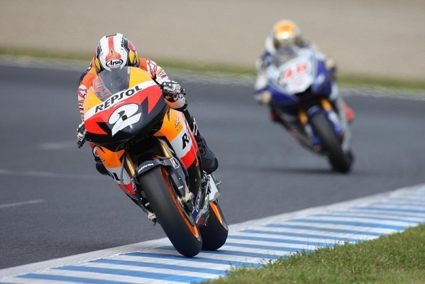 Pedrosa holt sich Sepang-Pole: Eine Timing-Lotterie