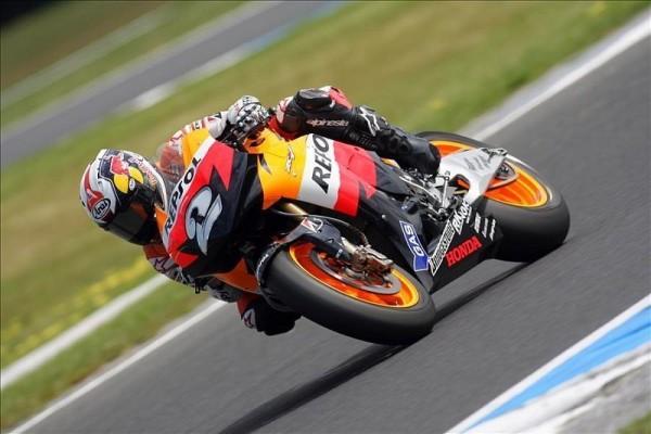 Pedrosas kurzes Rennen: Haydens Rossi-Geschichte