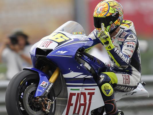 Rossi dominiert in Sepang: Der Regen drohte nur