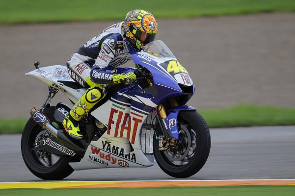 Rossi plante nur eine kleine Party: Gleich an die Basis für 2009