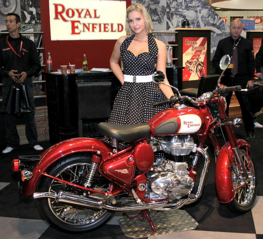 Royal Enfield feiert die Bullet 500 Classic