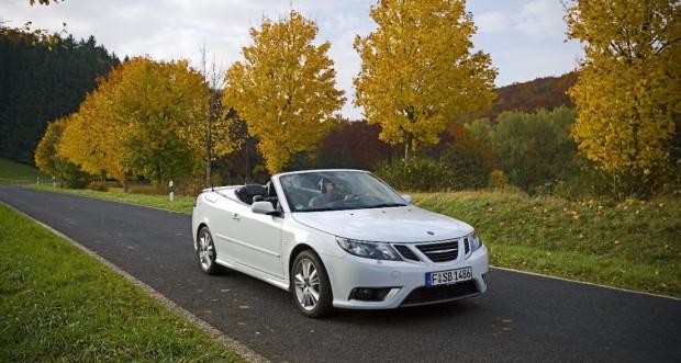 Saab 9-3 Cabrio – Der Herbst ist farbenfroh