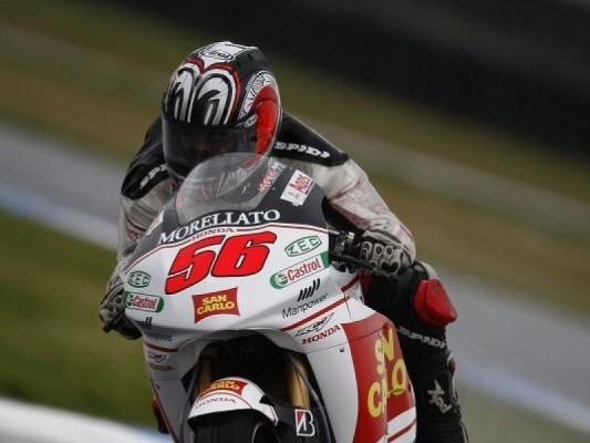 Shinya Nakano auf 4: Schnellste Honda
