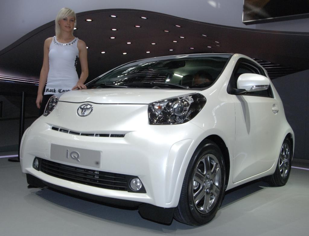 Toyota iQ: Kleinster Viersitzer der Welt
