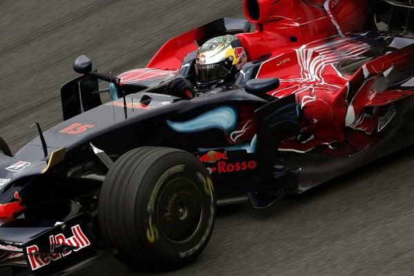 Vettel gegen Bourdais: Ziemlich ausgeglichen