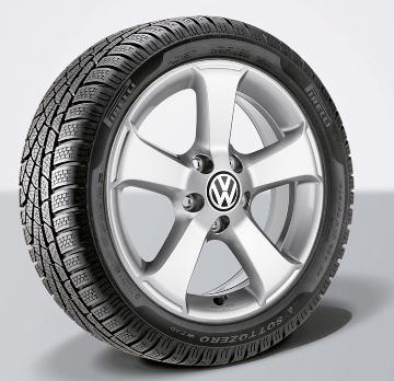 Volkswagen Zubehör erweitert Winterreifenprogramm