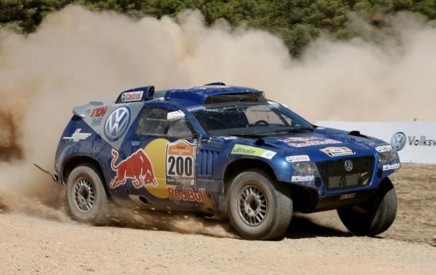 Volkswagen startet mit vier Race Touareg bei der Dakar