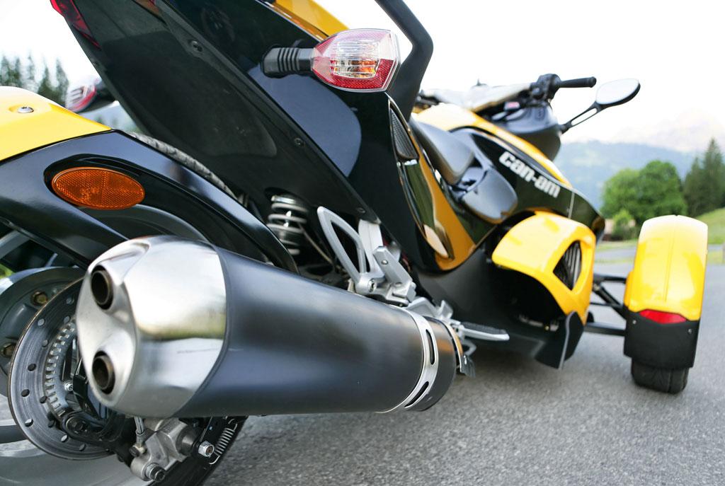 Vorstellung Can-Am Spyder Roadster: Motorrad oder Auto?