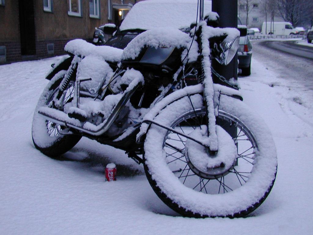 Winter-Ratgeber: Motorrad gut einmotten