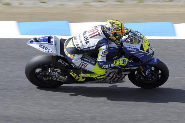 Yamaha noch nicht perfekt: Rossi sucht das Regen-Setup, Lorenzo das trockene