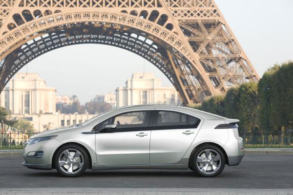 Ausstellung über Elektro-Autos zeigt GM EV1