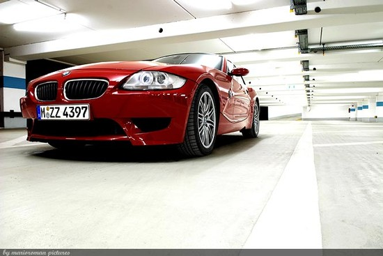 BMW Z4 M Coupe: Die rote Versuchung