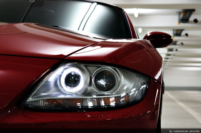 BMW Z4 M Coupe   Die rote Versuchung