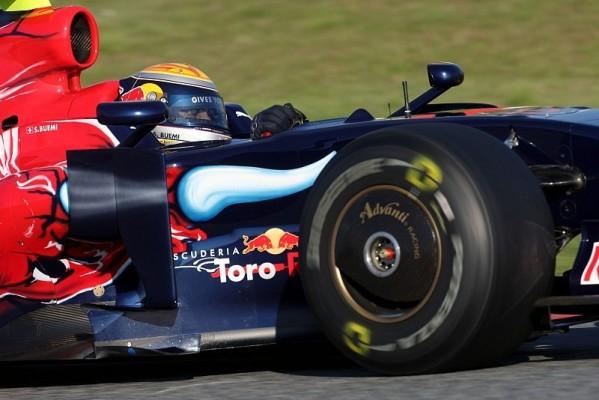 Barcelona, Tag 1: Toro Rosso fährt vorneweg