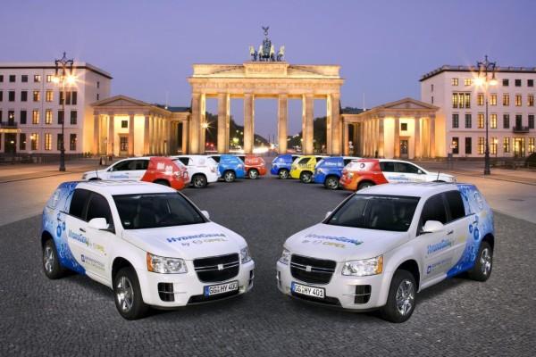 Brennstoffzellen-Auto im Alltagstest