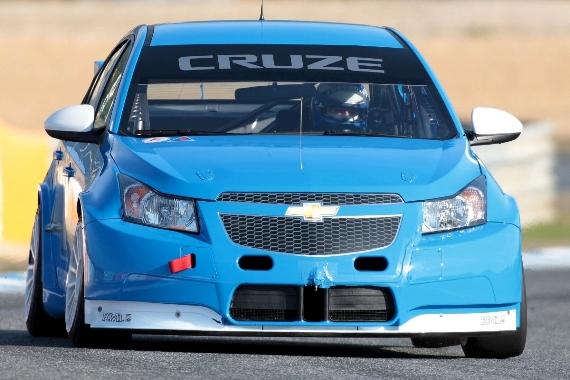 Chevrolet testet den Cruze für die WTCC