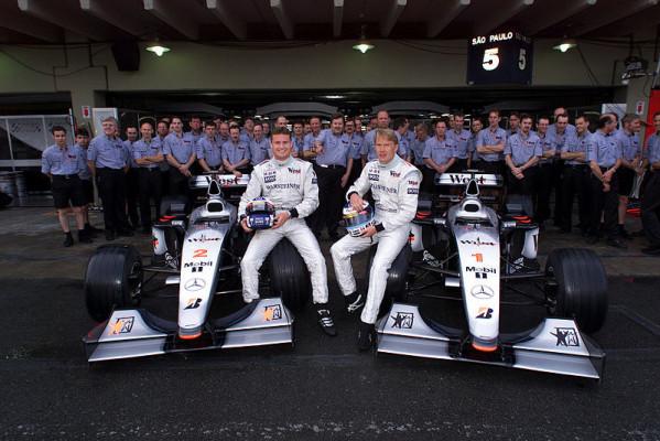 Coulthard mochte seine Teamkollegen: Häkkinen der grüne Fahrer