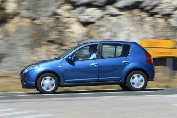 Dacia Sandero mit Autogas-Benzin-Motor
