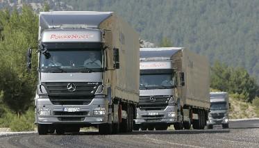 Deutsche Lastwagen beförderten 4,9 Prozent mehr Fracht