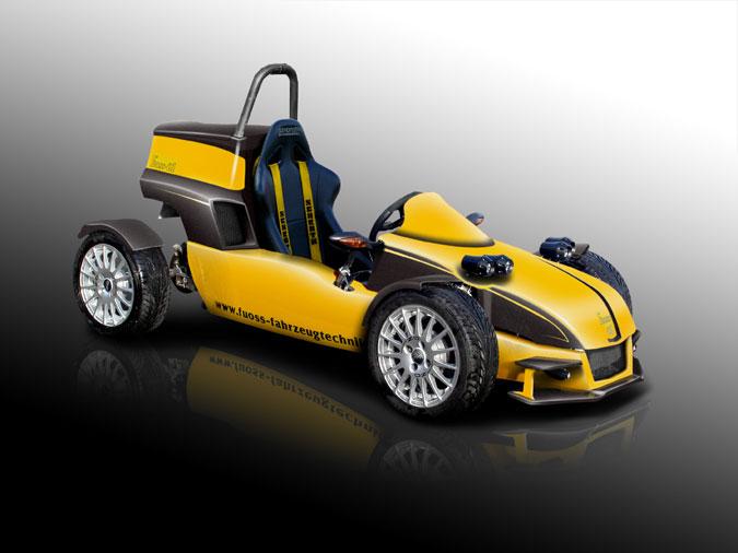 Fuoss 01 - Offener Einsitzer mit Mittelmotor