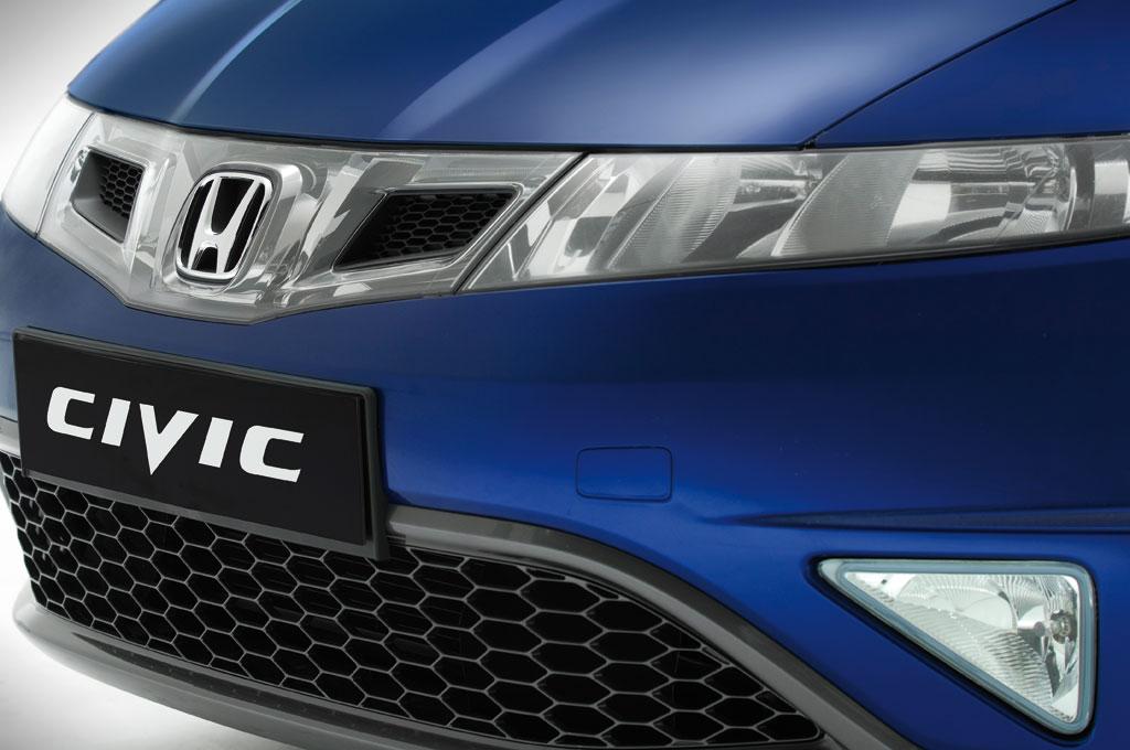 Honda Civic zum Modelljahr 2009 mit einigen Änderungen