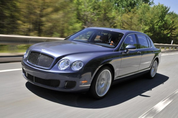Hotel-Transfer im Bentley Continental Flying Spur