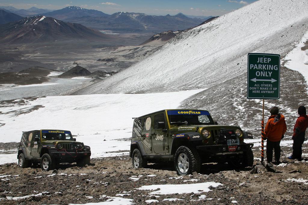 Jeep Wrangler | Höhenweltrekord 2007