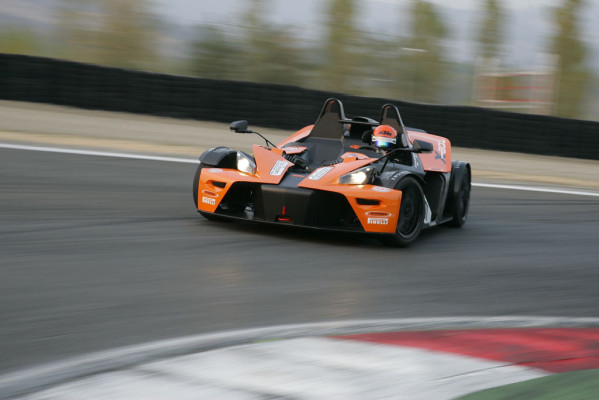 KTM X-Bow Race wird ab Januar angeboten