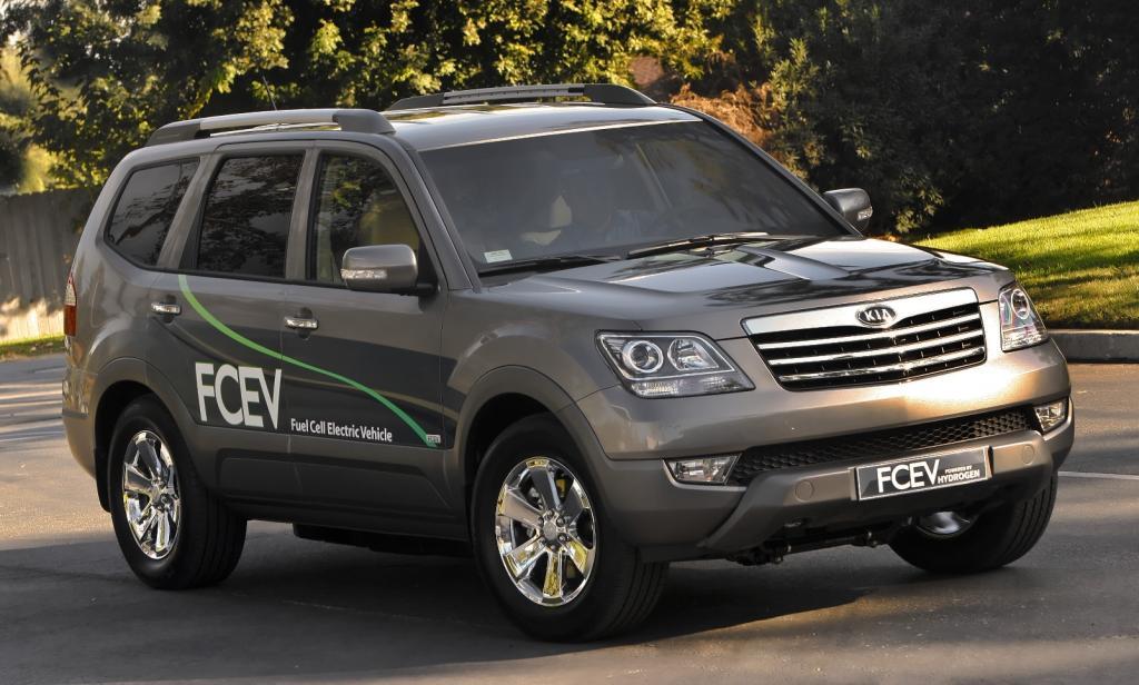Kia stellt Brennstoffzellen-Borrego vor