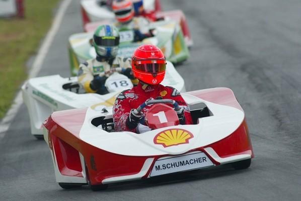 Massas hochkarätiges Kart-Feld: Schumacher, Gordon, Barros...