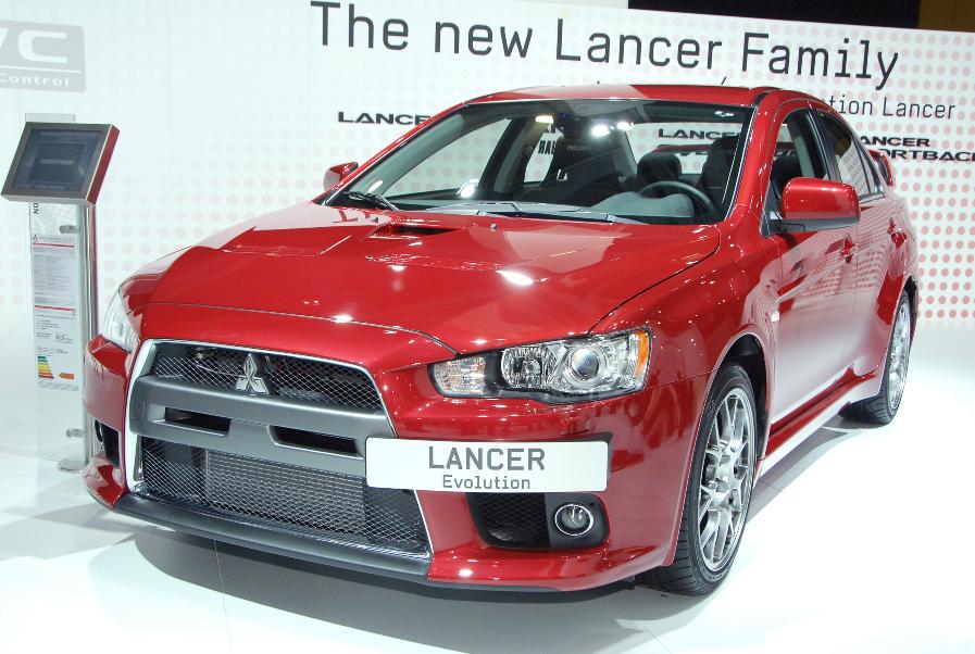 Mitsubishi Lancer Sportback Ralliart hat in Essen Premiere
