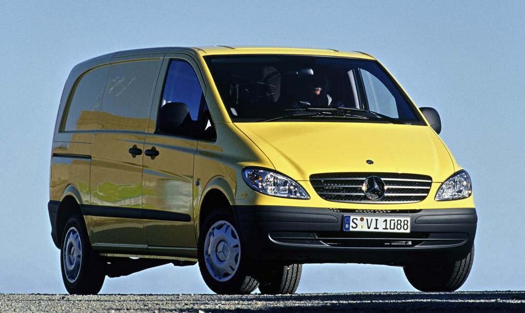 Neue Gewichtsvariante für Mercedes-Benz Vito