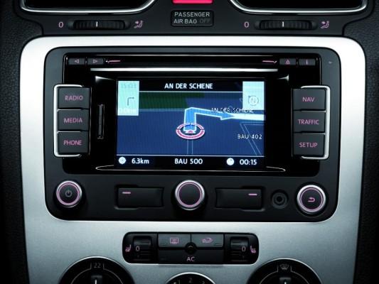 Neues Navigationssystem für den Volkswagen Golf