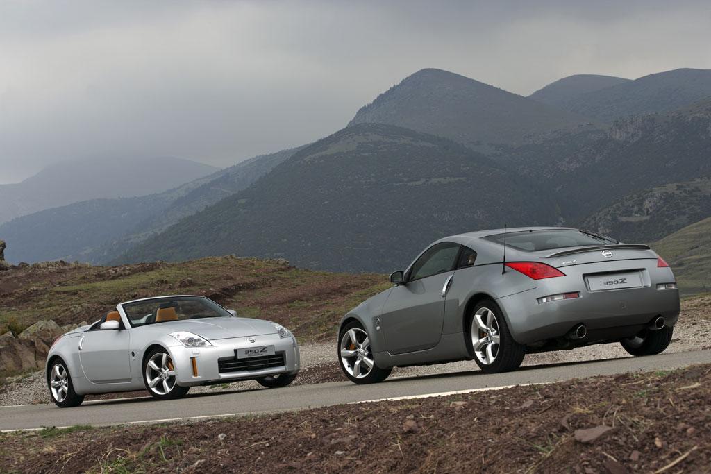 Nissan 350 Z & 350 Z Roadster