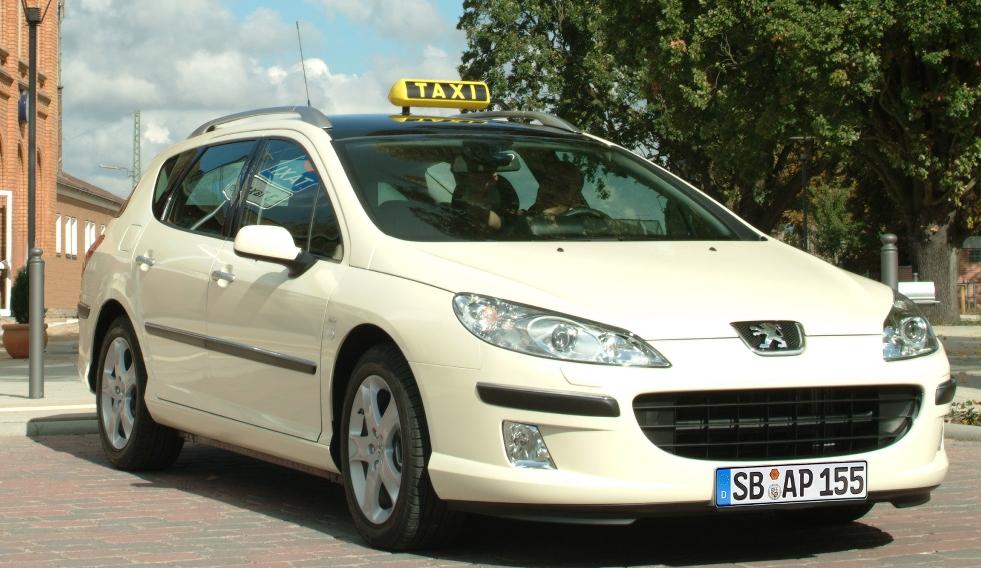 Peugeot auf der Taxi-Messe in Köln