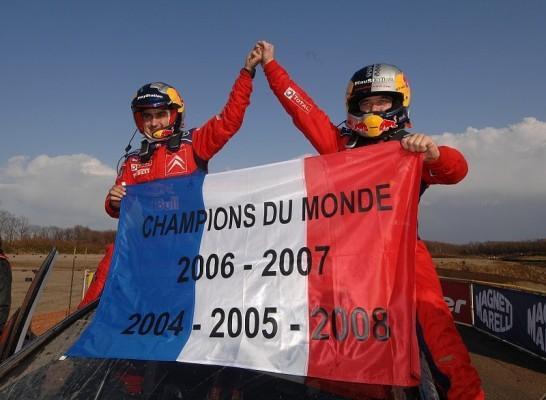 Rallye Japan, 3. Tag: Loeb krönt sich zum Weltmeister