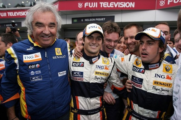 Renault behält Alonso und Piquet: Alonso bleibt zwei Jahre