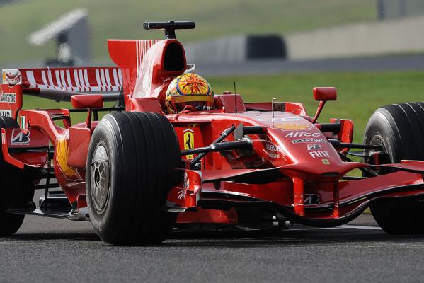 Rossi testet für Ferrari: Nur zum Spaß