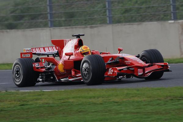 Rossi testet im Regen: Auch im Nassen fantastisch