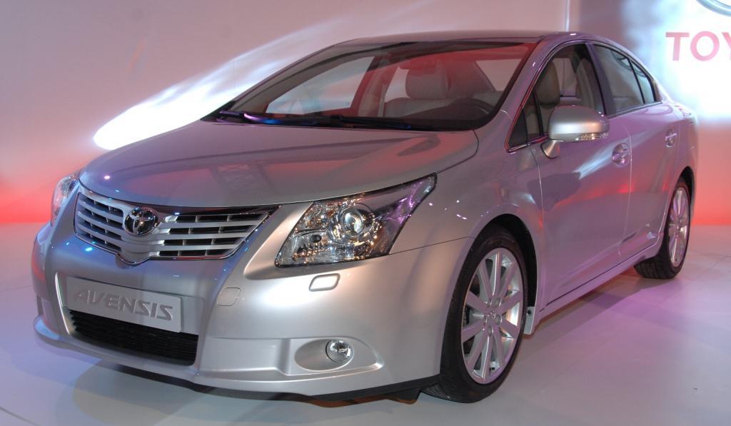 Toyota Avensis-Produktion in England startet