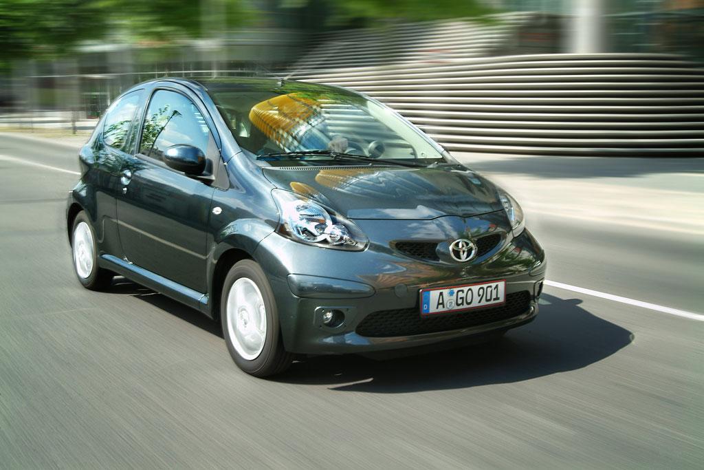 Toyota zeigt überarbeiteten Aygo in Bologna