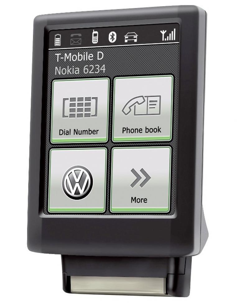 Volkswagen bietet Bluetooth-Touch-Adapter an