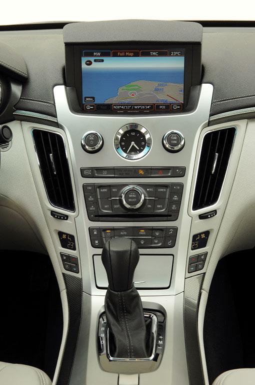 Von Grund auf Ehrlich   Cadillac CTS 3,6 V6   Fotos: GM-Cadillac