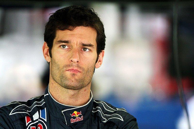 Webber mit Fahrradunfall: Rechtes Bein gebrochen