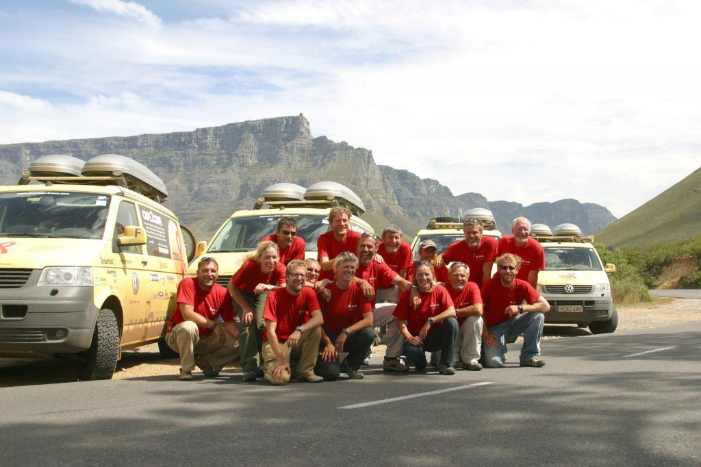 Aids-Erinnerungsaktion ?cape2cape?: Mit VW California auf Gipfeltour