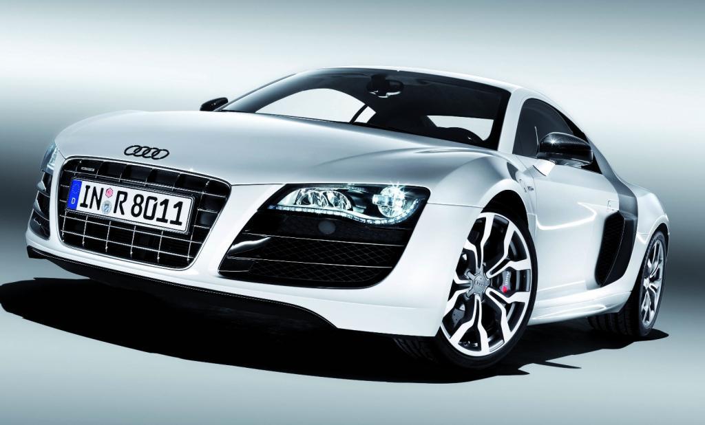 Audi bringt 2009 den R8 5.2 FSI Quattro