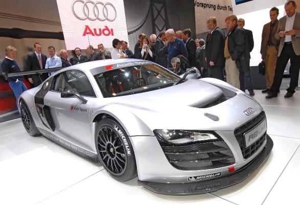 Audi präsentiert in Essen die Rennversion des R8