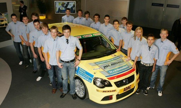 Beim Polo Cup treten 2009 28 Nachwuchsfahrer an