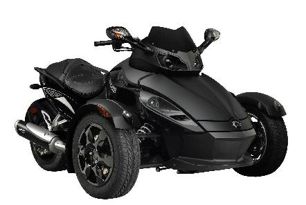 Black Phantom Kit für den Can-Am Spyder Roadster